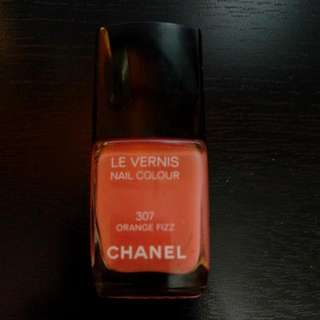 Chanel (307 Orange Fizz) Nailpolosh