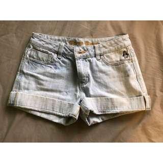 shorts 牛仔短裤