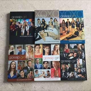 (Reserved) Gossip Girl Complete Season 1 To 6 DVD Set
