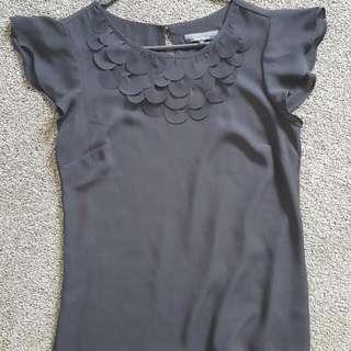 Black Blouse/Work Shirt