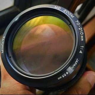 Minolta MD 70-210mm F4 (Leica Copy)