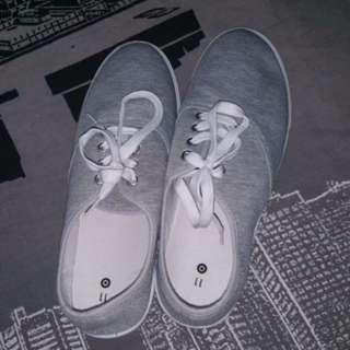 Grey Size 11 Canvas Shoes