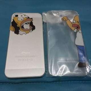Iphone 5 /5S/ SE Plastic Casing