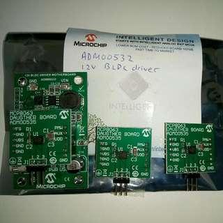 12V BLDC Motor Driver (ADM00532, for Sensorless Brushless DC Motor)