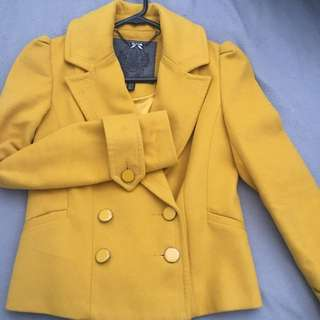 Forever New Peacoat Size 6
