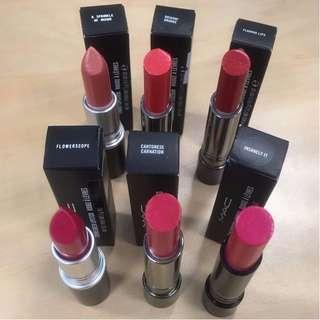 <Reduced> Authentic MAC Lipsticks (price per Lipstick)