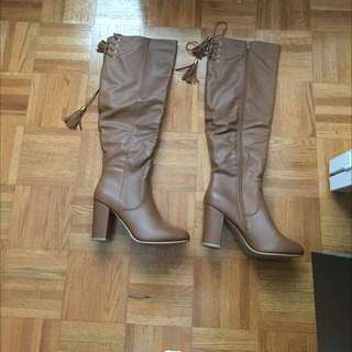 New Knee High Boots