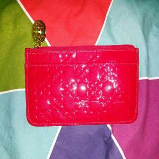 Coach Patent Leather Card Holder / Wallet