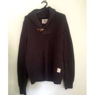 Bellfield Men's Knitted Sweater Size Small