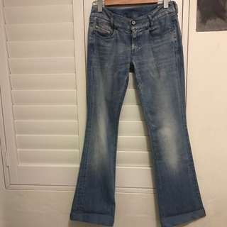 Diesel Genuine - Louvely Stretch Bootcut Jeans.