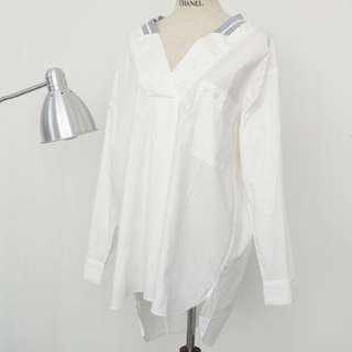 Stylish Design White Top