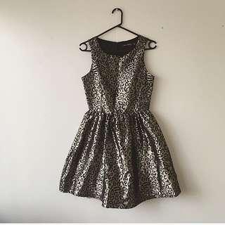 Boohoo Leopard Dress