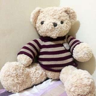 Boneka Beruang Ukuran Sedang
