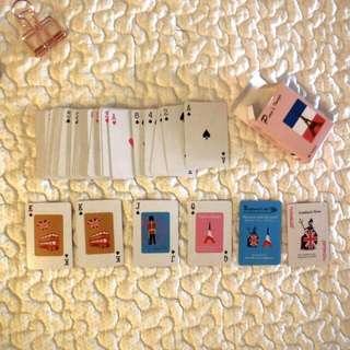 Paris Tiny Playing Cards