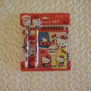 Hello Kitty Stationery sets