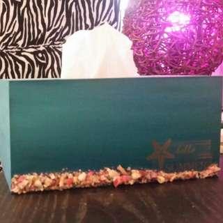 Beachy Tissue Box Holder
