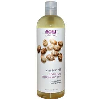 [BN: InStock] Now Foods 100% Pure Castor Oil Authentic from USA