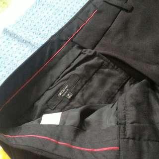 🚚 G2000 29腰 黑色西裝褲