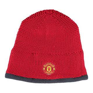 Manchester United Adidas Beanie Red