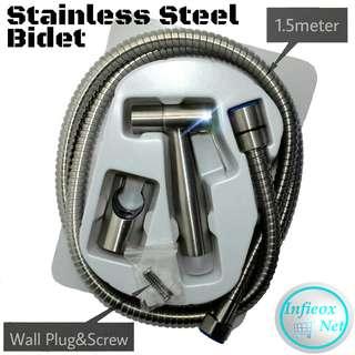 Stainless Steel Bidet Set Sanitary Fitting 🆓📦Free Shipping📦🆓