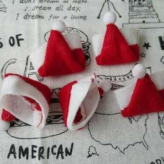 Mini Santa Hat For Lollipops