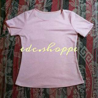 RESERVED Pastel Pink Top