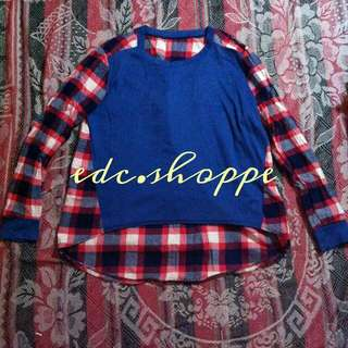 RESERVED Two-toned Pullover