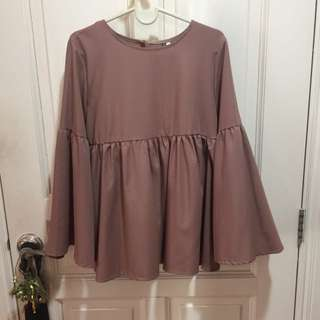 (RESERVED)RUFFLED TOP