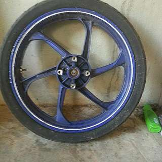 Sportrim 125zr Biru Gp Ori Moto