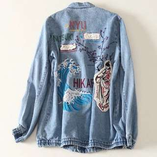 zara Denim Jacket size M