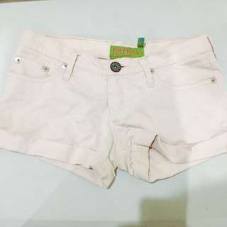 Pink Next Jeans Shorts
