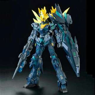 P-Bandai Exclusive: MG 1/100 RX-0[N] Unicorn Gundam 02 Banshee Norn (Final Battle Ver.) Bandai