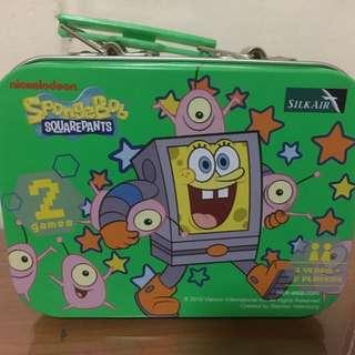 Limited Edition Silk Air Spongebob Squarepants Boardgames