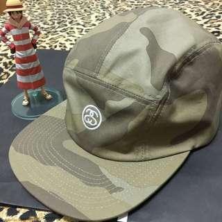 Stussy 五分割帽 老帽 棒球帽