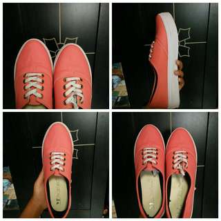 local brand pink shoes