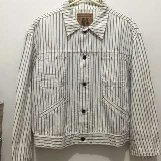 Authentic Stripes Jeans Jacket