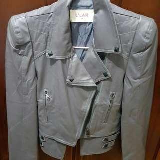 個性風皮外套