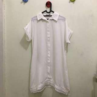COTTONINK Offwhite Dress