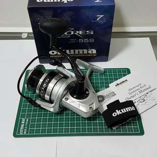 *reduced* Okuma Azores Z55 SW Spinning Reel