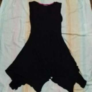 Terranova Black Sleveless Dress Large