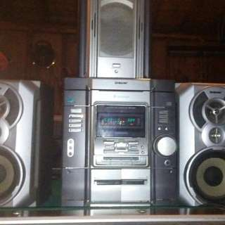 Sony 3 Disc Cd Player
