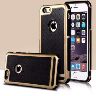 [PO] Shockproof Case For iphone 6 Plus (Gold)