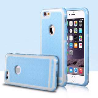 [PO] Shockproof Case For iphone 6 Plus (Light Blue)