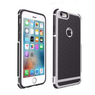 [PO] Shockproof Case For iphone 6 Plus (Silver)