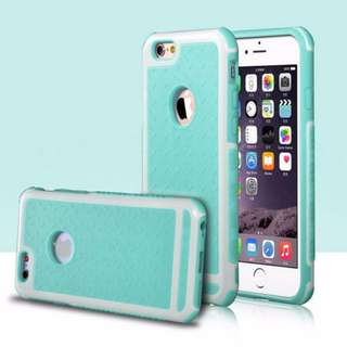 [PO] Shockproof Case For iphone 6 Plus (Turquoise)