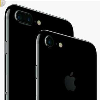 iphone 7+ matt black 128gb
