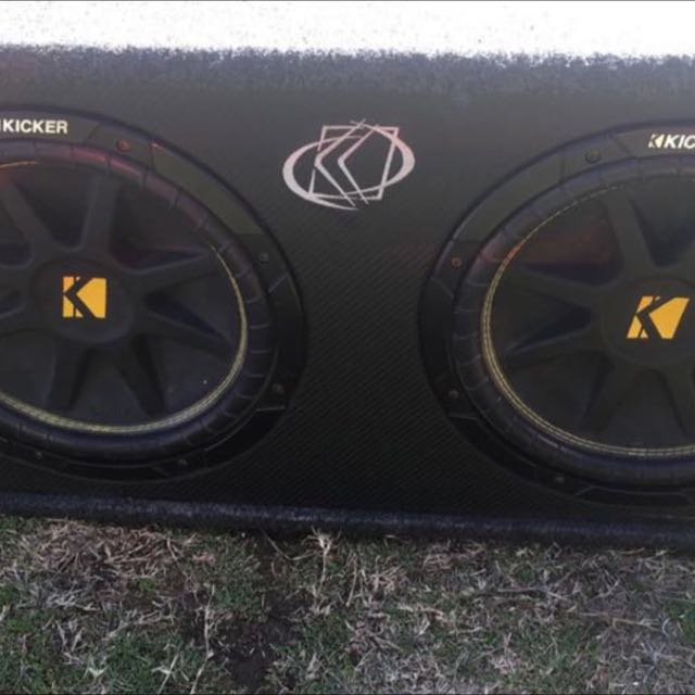 2x12 Kicker Subs + Amp