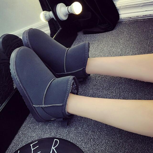 防潑水加絨雪靴♡共5色可選♡尺寸35-40