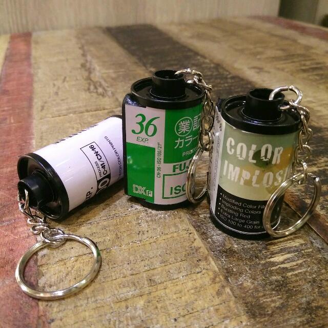特製底片膠卷鑰匙圈/款式隨機