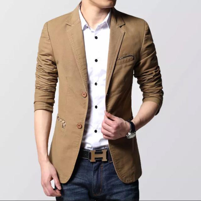 韓版修身西裝外套
